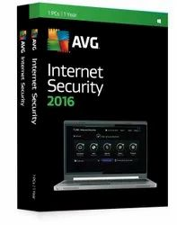 1 Year AVG Internet Security Software With 1 PC