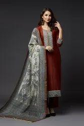 Silk Printed Nayaab Ladies Collection Suit