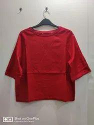 Viscose Casual Wear Surplus Round T Shirt