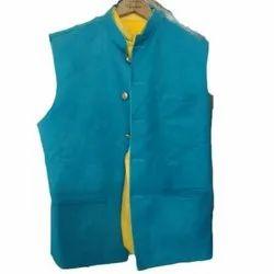 Cotton Blend Nehru Jacket