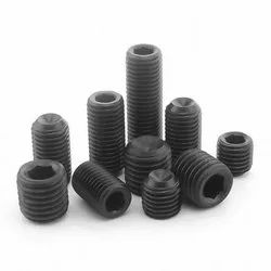 Slotted Set Screws with Cup Point