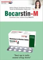 Montelukast 10mg + Bilastine 20mg Tablets