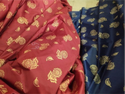 Gold Print Mattress Fabric