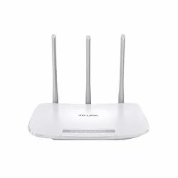White TP-link N300 WiFi Wireless Router