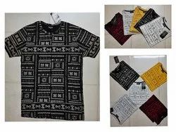 Cotton Printed T Shirt Printing Services, Designing, Depends On Qty