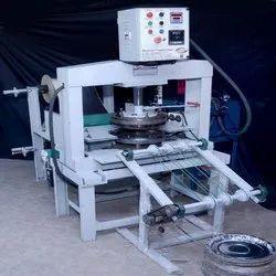 Fully Automatic Hydraulic Diamond Thali Making Machine