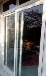 Glossy Polished Aluminium Sliding Window, For Residential and Commercial