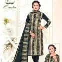 Low Range Unstitched Salwar Suit Pure Cotton -10 Pcs
