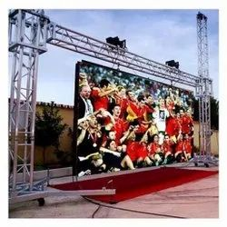 Sai LED Rectangle Outdoor Advertising Display, For Advertisement