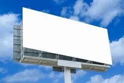 Outdoor PVC White Hoarding Banner, Thickness: 5 Mm, Dimension: 4 X 5 Feet