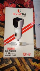 TRUST TEL CAR CHARGER WITH WARRANTY