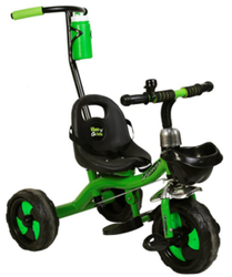 Multicolor Discover With Handle Tricycle