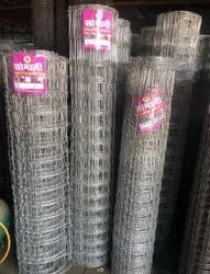 Twill Powder Coated SS Wire Mesh, For Fencing, Packaging Type: Roll