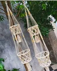 Cotton Wall Hanging Decoration, Size: Standard Size