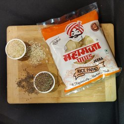 200 Gm - 500 Gm - 2 Kg Rice Khichiya Papad Jeera Flavour