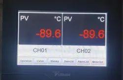 LCD Temperature Controller Multi Channel