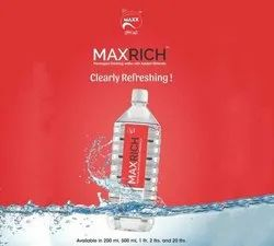 Plastic Max Rich Water Bottle, For Everywhere