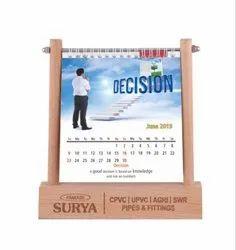 Paper Desktop Calendar
