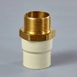 CPVC Brass MTA (Hexagonal)