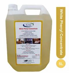 Nuo Clean Yellow White Phenyl Concentrate - WPC, Can, Packaging Size: 5 Liters