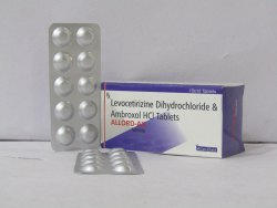 Allord Ax Levocetrizine5MG Ambroxol 75 mg SR, for Hospital, Packaging Size: 10 X 10 Tablets