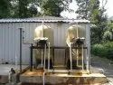 Reverse Osmosis Carbon Steel Water Purification Systems, For Industrial, Water Storage Capacity: 2000 L