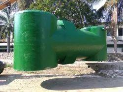 Portable Underground Sewage Treatment Plant