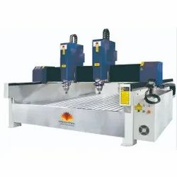 Double Head CNC Stone Engraving Machine