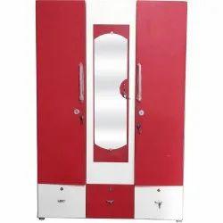 3 Door Deco Lock Domestic Steel Almirah