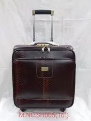 Leatherette Trolley Bag