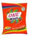 Lavender Blue One Wash Detergent Powder, For Laundry, Packaging Type: Plastic
