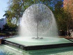 Fiber Glass 120 V Water Fountain