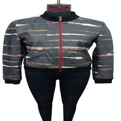 Full Sleeve Casual Jackets Ladies Tie Dye jacket, Size: Large