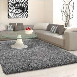 Shag Rectangular Living Room Rug, For Floor, Size: 5 X 8 Feet