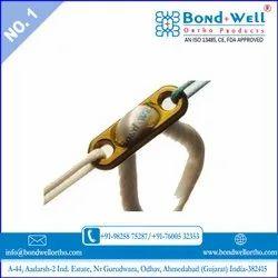 Bond Well Titanium Loop Button, Thickness: 5-30 Mm