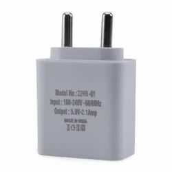 generic White Single Port Fast USB Charger 2.1A