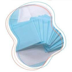 Rectangular Disposable Superabsorbent Underpads
