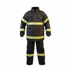 Bright Polyester Fire Fighting Protection Cloth, Available Size: 7