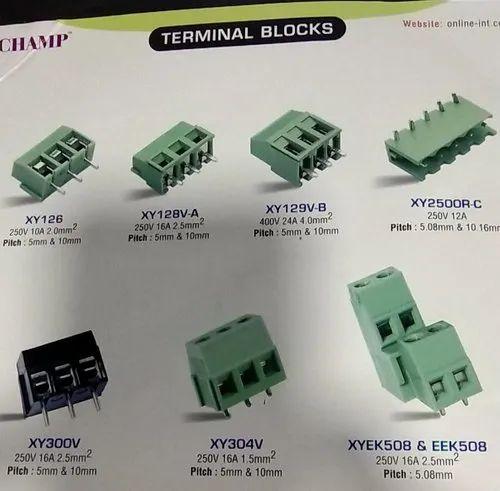 PCB Mountable Terminal Block XY 103-5.0