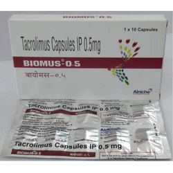 0.5 mg Tacrolimus Capsules IP