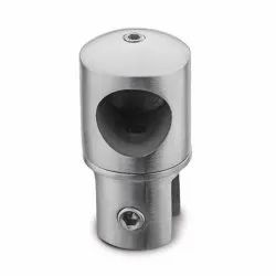 Alfa Hardware Stainless Steel ASGF-03 Shower Glass Fitting, Dimension/Size: 19 Mm (dia)