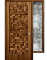 RE720 Teak Wooden Door
