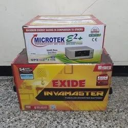 Microtek 1115VA and Exide IMST Battery 150AH