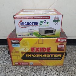 Microtek 1115VA and Exide IMST Battery 150AH