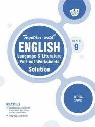 9级与英语语言和文学拉出工作表书