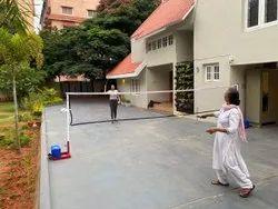 KD Badminton Pole Movable Family Model