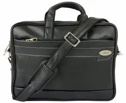 Black Leather Executive Bags, Size/Dimension: 1.5 X 1 Feet