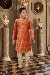 SILK INDIA Cotton Kids Digital Print Kurta, 2 to 12