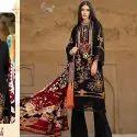 Fancy Pakistani Cotton Unstitched Suit