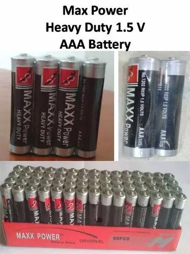 Max Power Heavy Duty AAA Battery